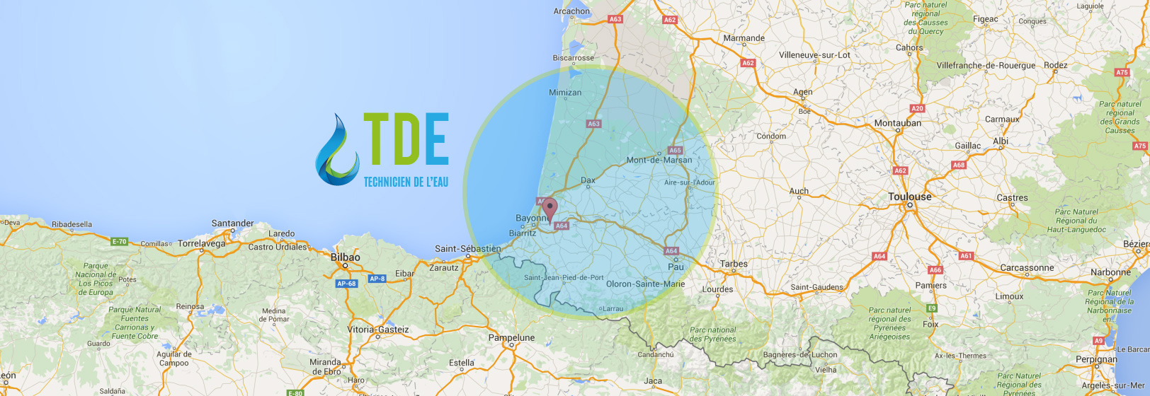 Contact devis technicien de l'eau TDE Pays Basque Landes 40 64